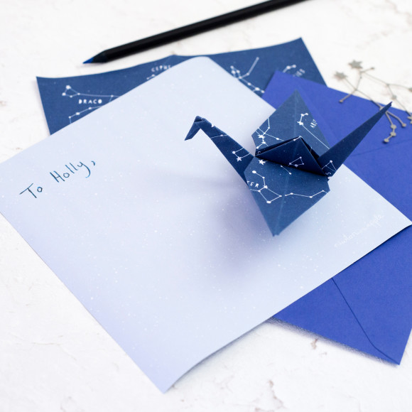 Origami Letter Writing Set