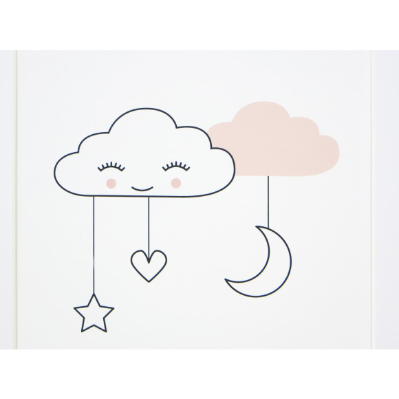 Sweet dreams cloud nursery print