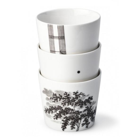Three cup set