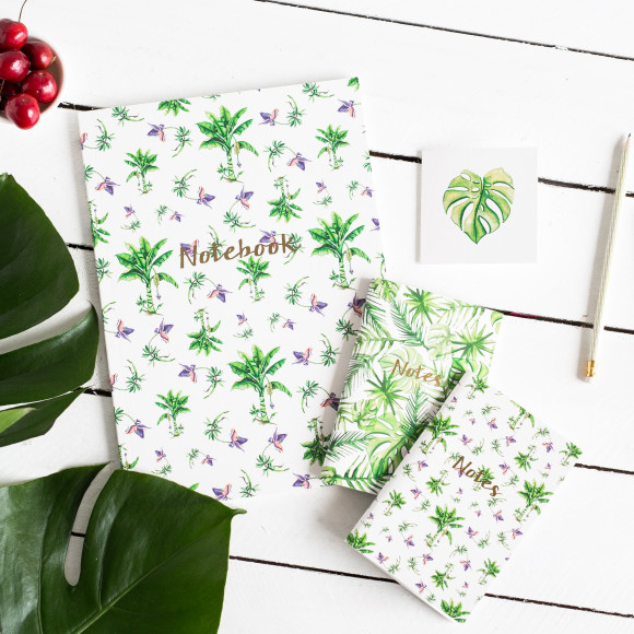 Team your gorgeous magnet book with more of our Tropical books for that total look.