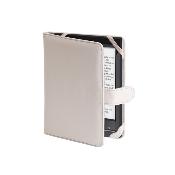 White Kindle cover