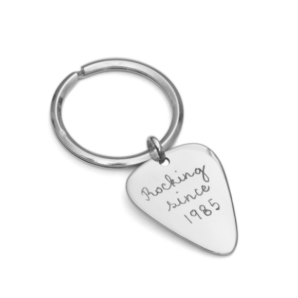 Plectrum key ring