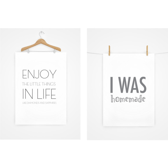 Funny prints with quotes to make you smile. Pegged print is a perferct baby shower gift