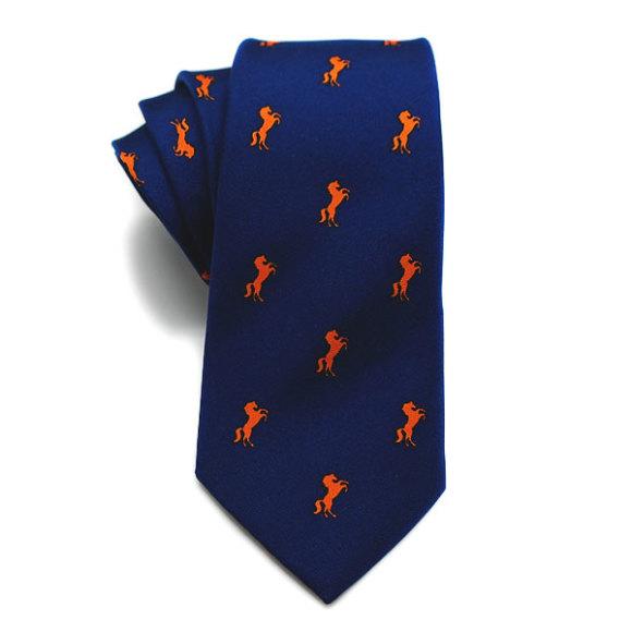 Stallion Silk Tie
