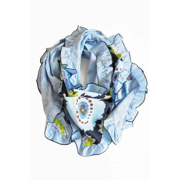 Sea Anemone scarf