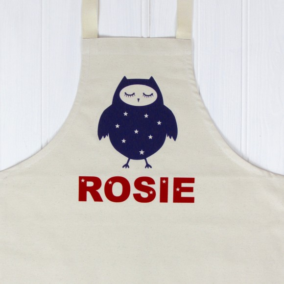 Kids Personalised Cooking Apron