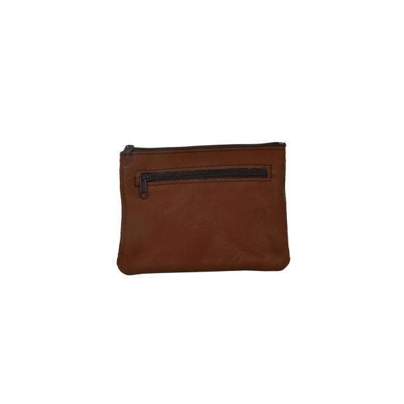 Mini Wallet Brown