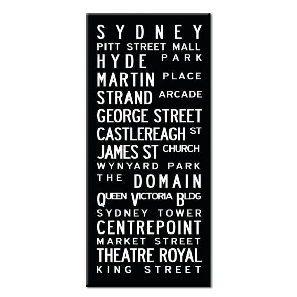 Sydney canvas