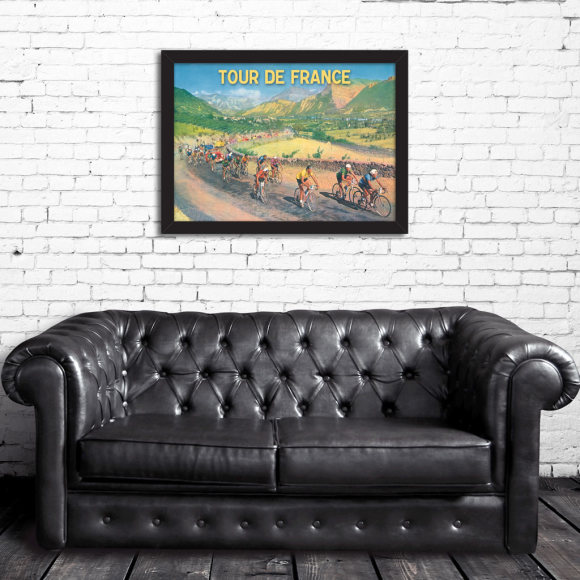 Tour de France Scenery: Framed