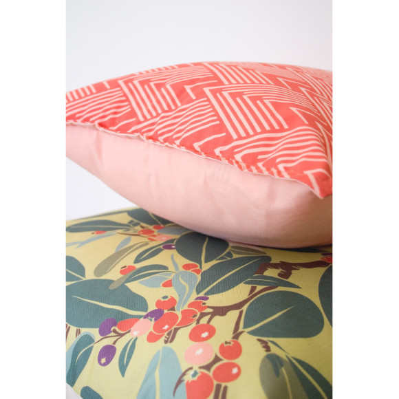 Tangerine cushion