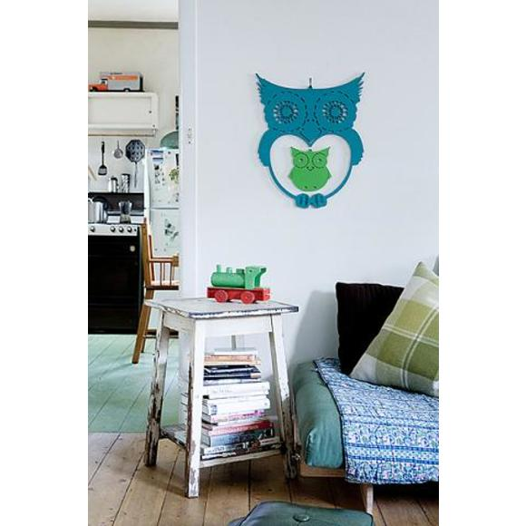 Owl wall hanging