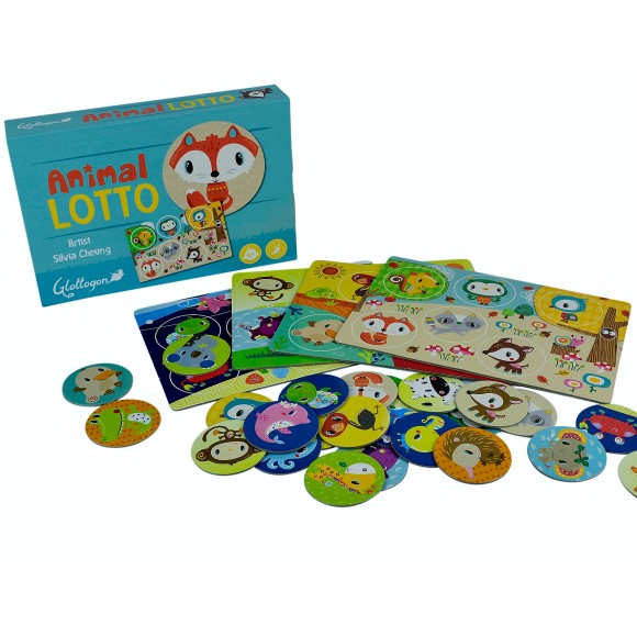 Animal Lotto contents GLOTTOGON