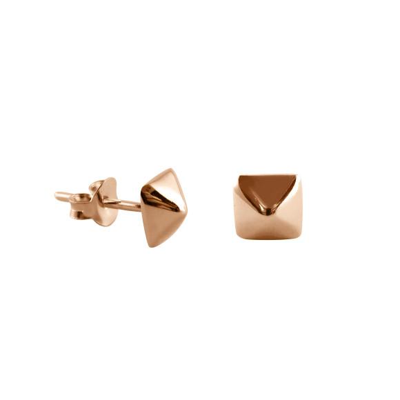 Stud Earrings rose gold