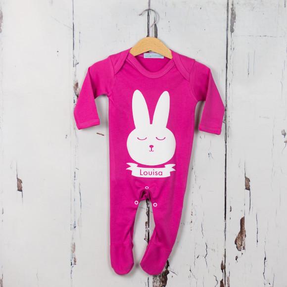 easter bunny babygrow