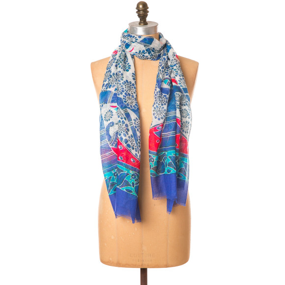 Love birds scarf