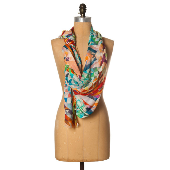 Diamond gelati scarf