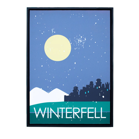 Winterfell in Black Floater