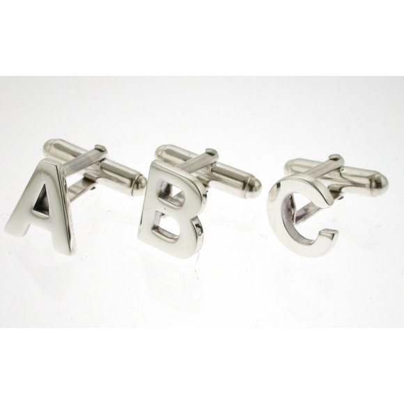 Silver initials