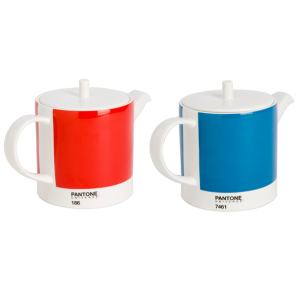 Pantone teapot