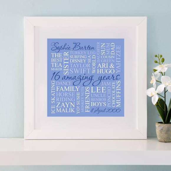 chunky frame blue print