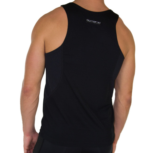 The Black Training Singlet - Back