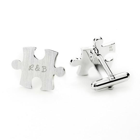 Stamped cufflinks