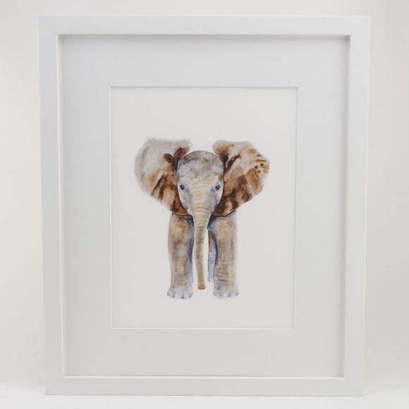 Elephant - White
