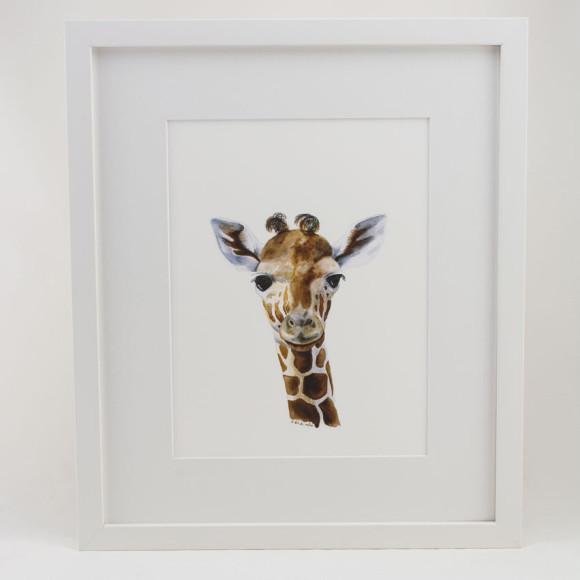 Giraffe - White
