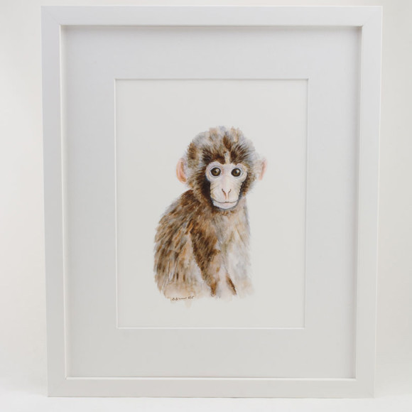 Monkey - White