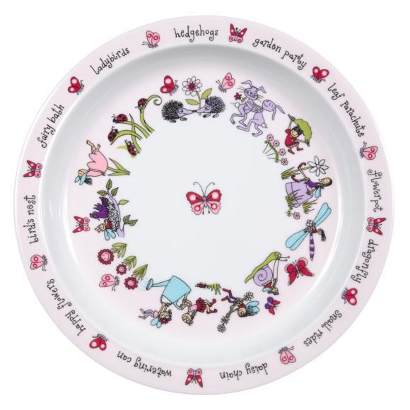 Secret Garden Plate