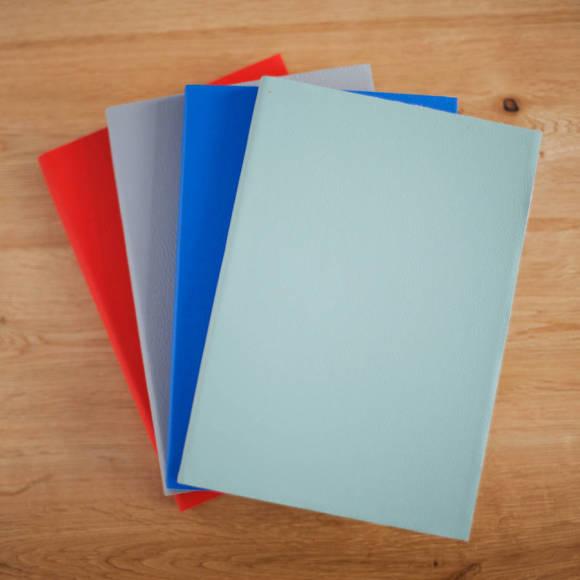 Pale Sage Green, Brightest Blue, Silver Grey, Neon