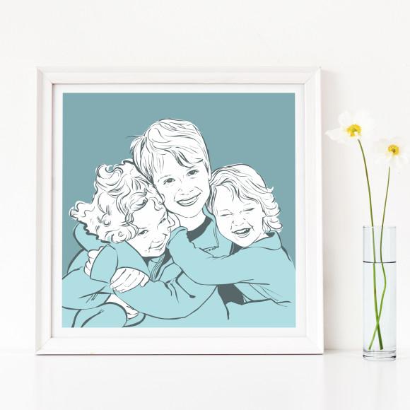 Family portrait - kids