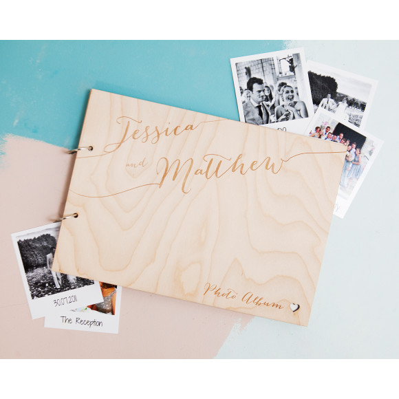 Calligraphy Wedding Guest Book