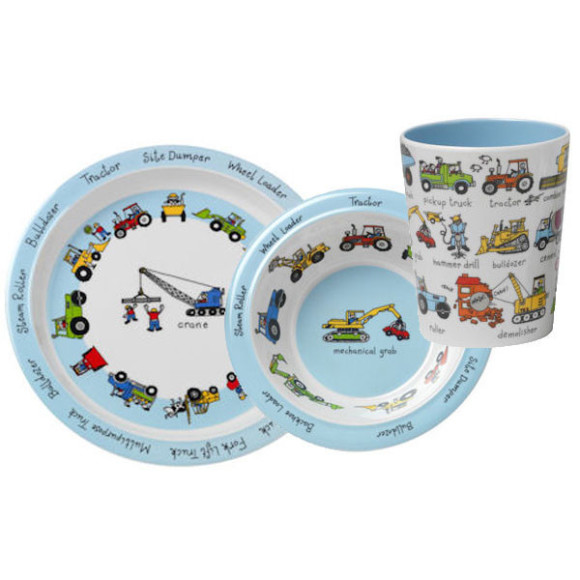 Tyrrell Katz Working Wheels Dinner Set