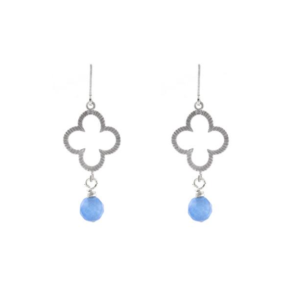 Silver blue clover