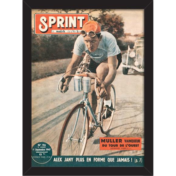 Sprint Cover 1947: Framed