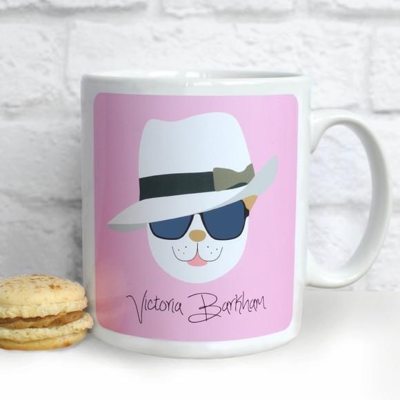 Fido 'Victoria Barkham' Mug