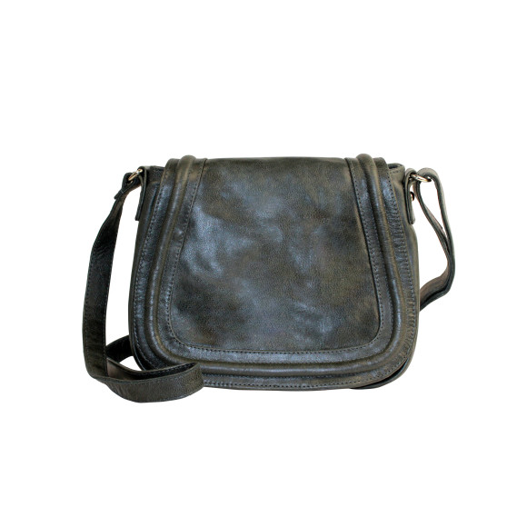Brooklyn Shoulder Bag in licorice