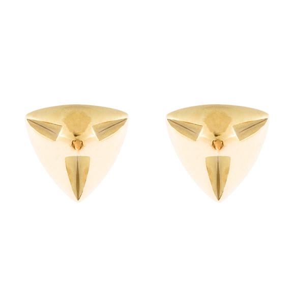 Amina gold earrings