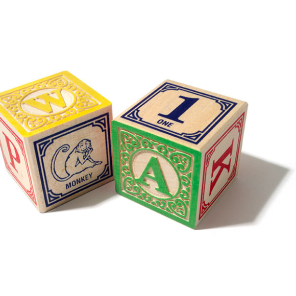 Classic ABC Blocks