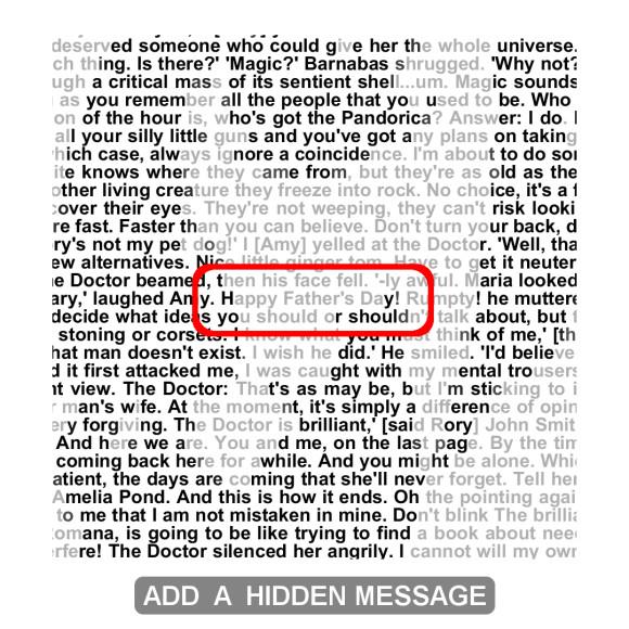 Add a Hidden Message
