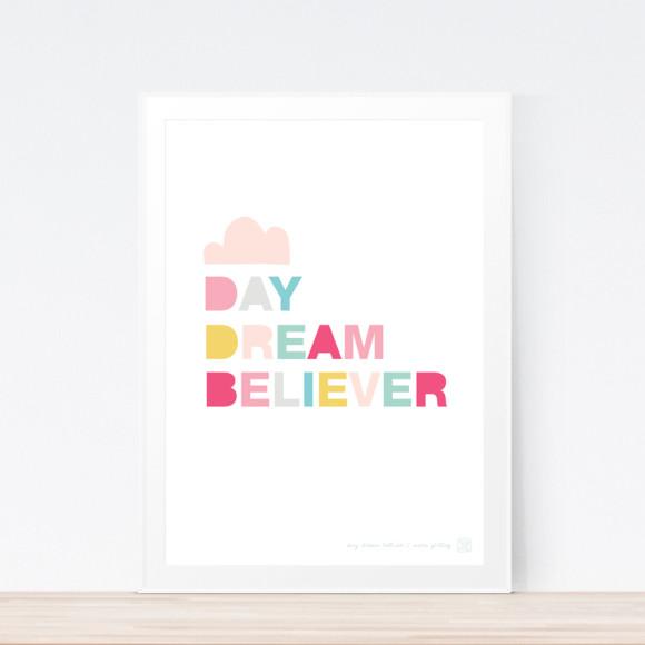 Daydream Believer Art Print (Framed)