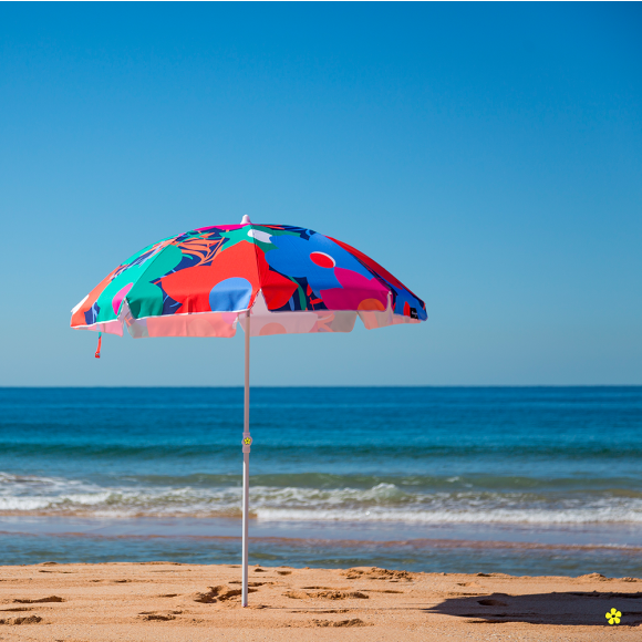 BLOOM FEST Beach Umbrella by Cocopani
