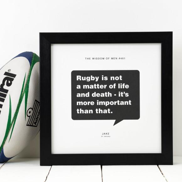 Design 8 Rugby