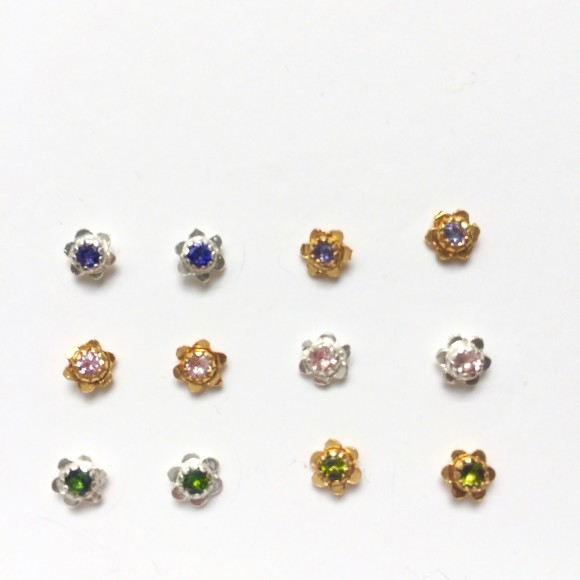 forget-me-not studs