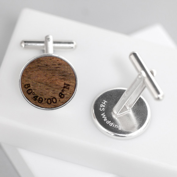 Sterling silver - engraved