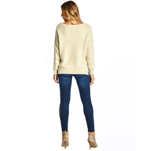 Laura Sweater in Cream