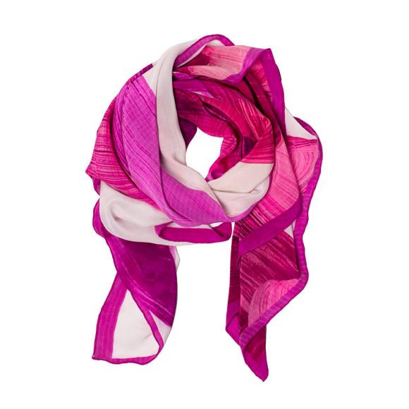 Adrian Silk Scarf - Pink