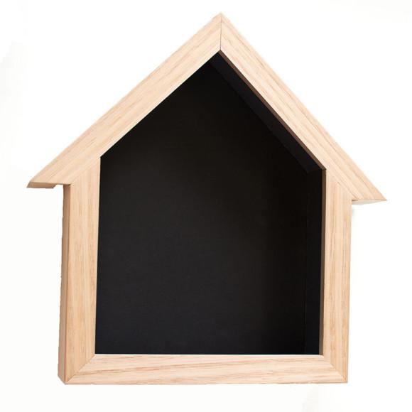 Birdhouse Blackboard Stormy Ggrey