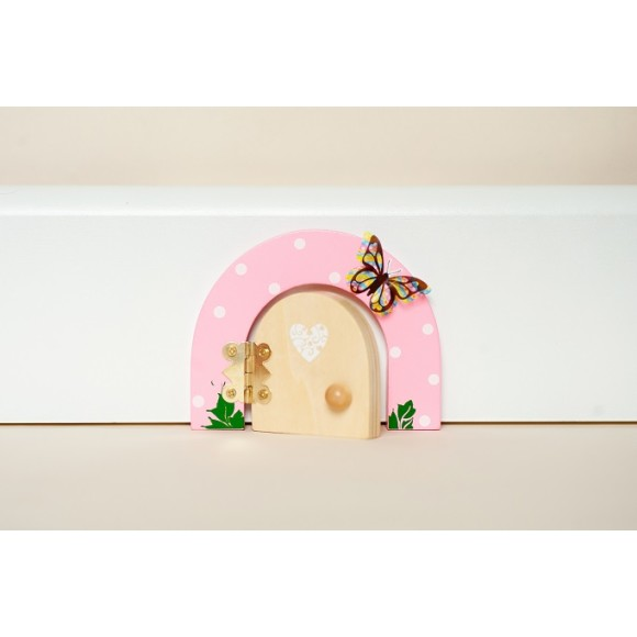 Buttercup pink fairy door